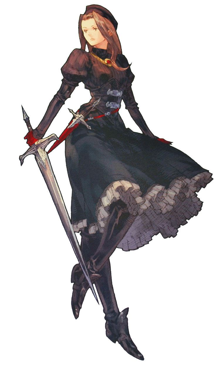 Tactics Ogre Princess Catiua | Video Game Princesses