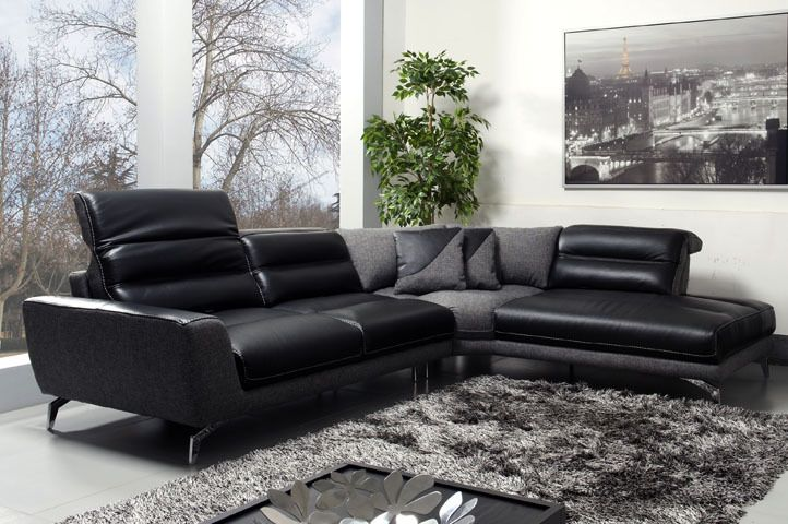 Pleasant Moroni 570 Oskar Top Grain Full Leather Sectional Sofa Gmtry Best Dining Table And Chair Ideas Images Gmtryco