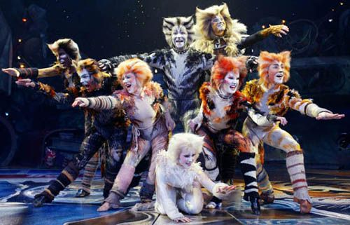 1982 Cats opens on Broadway. Broadway's longest