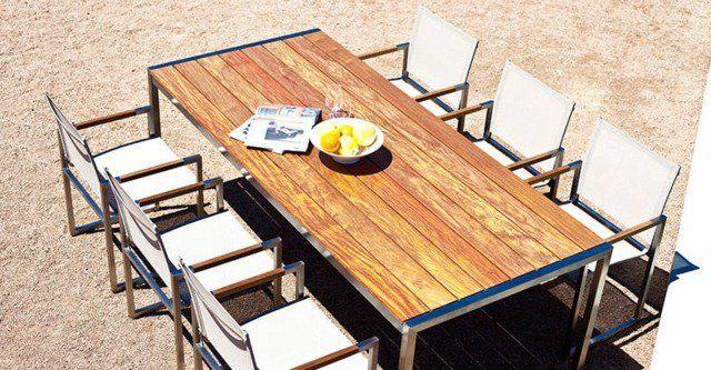 table de jardin bois - Recherche Google | Jardin | Pinterest ...