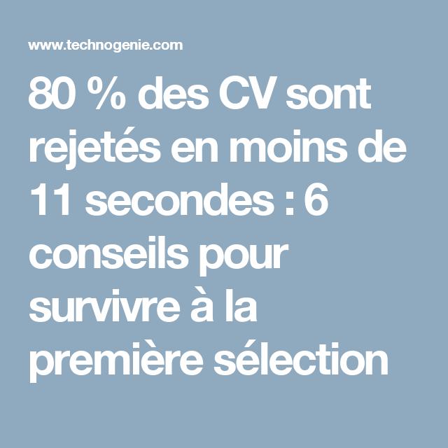 11 Lettre De Motivation Licence Psychologie: 80 % Des CV Sont Rejetés En Moins De 11 Secondes : 6