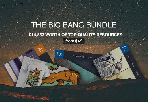 The Big Bang Bundle with $14,863 worth of Resources – From $49 | InkyDeals