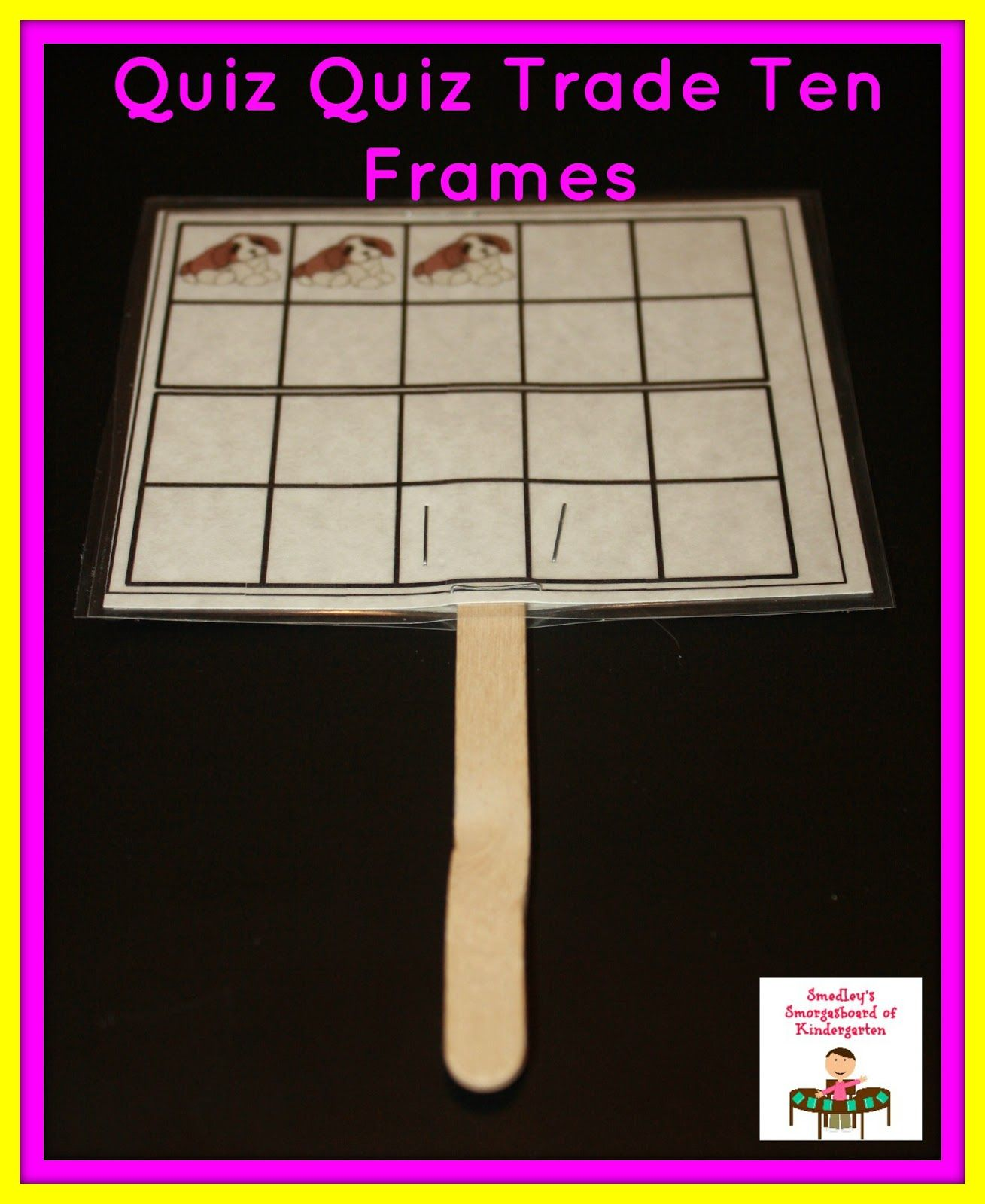 Ten Frames And Numbers To 20