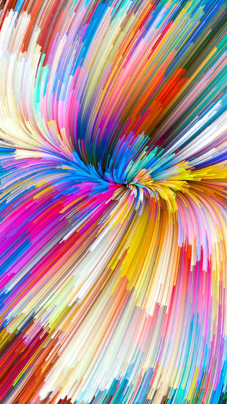 Vy07 Color Rainbow Digital Art Pattern Background With Images