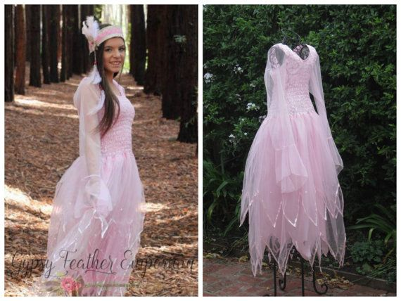 womanteen pink fairy halloween costume by