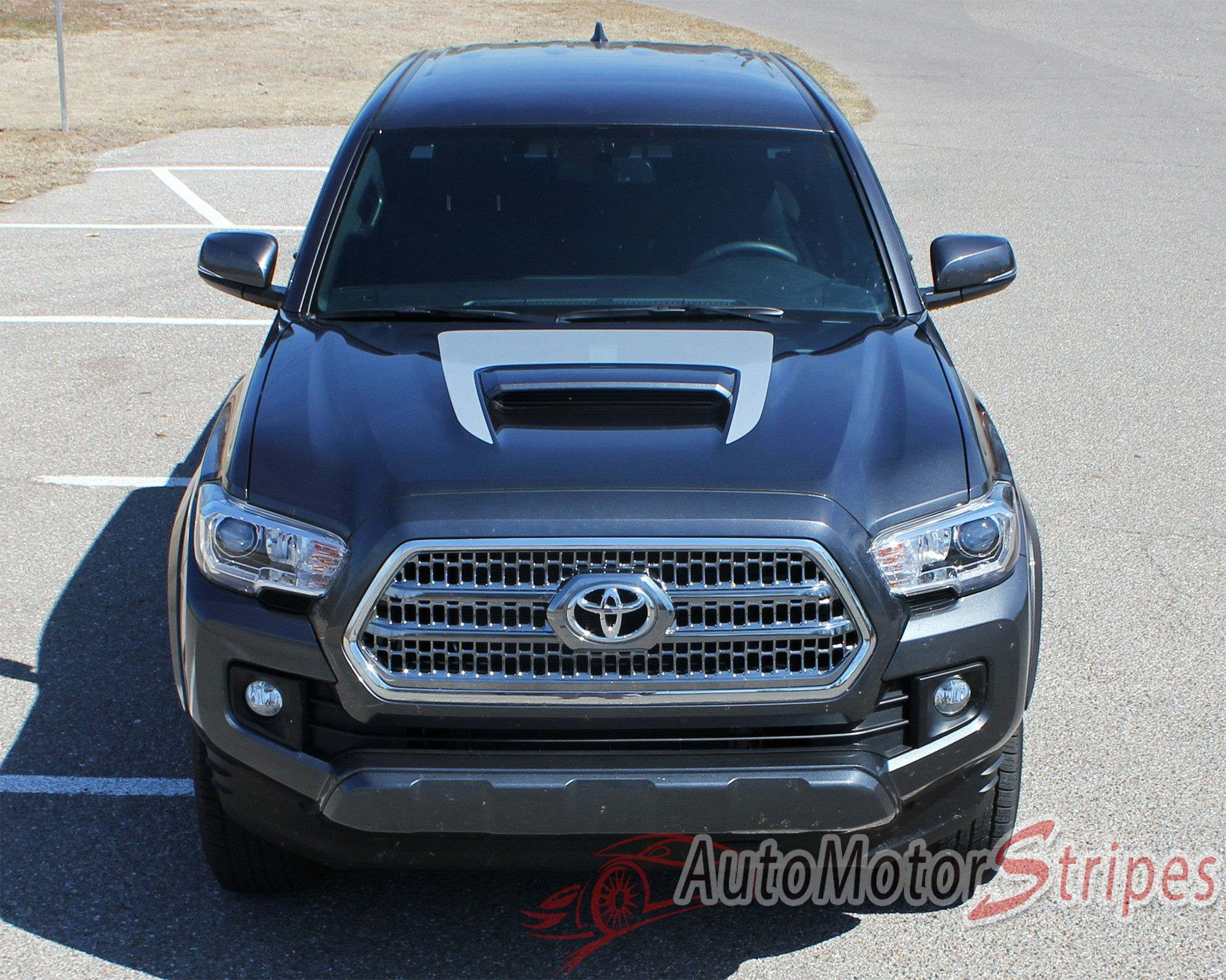 Vehicle specific style toyota tacoma trd sport pro vinyl graphic stripe decals year fitment 2015 2016