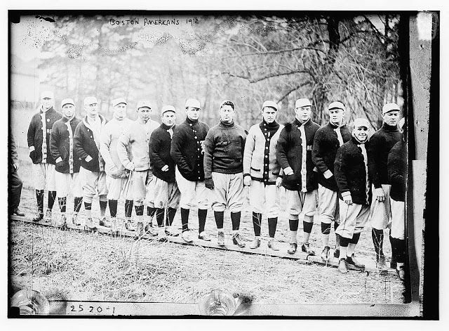 Red Sox at spring training, Hot Springs, AR. - 1912