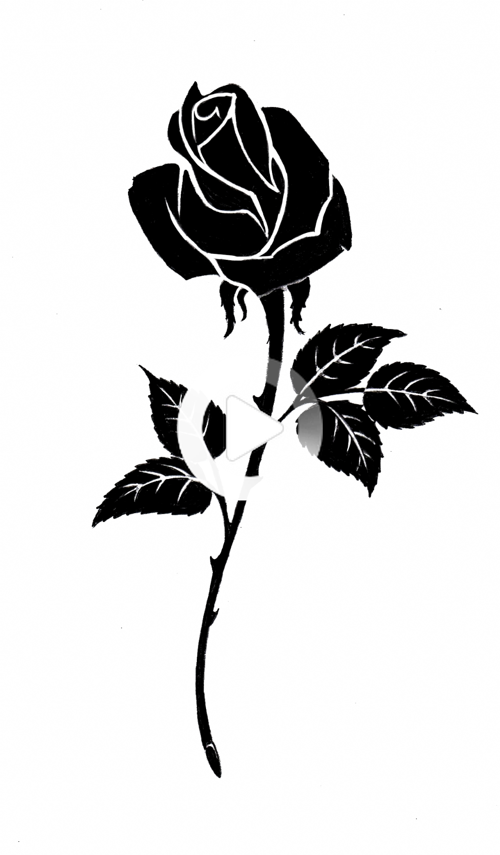 Gothic Tattoos Png Transparent Images Png All Black Rose Tattoos Rose Tattoos Tattoos For Women Flowers