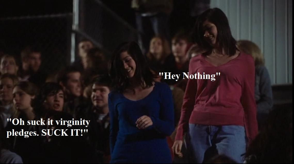Find copies of virginity pledges