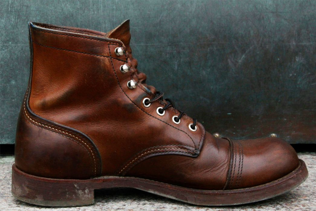 838a57ab476 Fade of the Day - Red Wing 8111 Iron Ranger (3 Years) | SHOES | Red ...