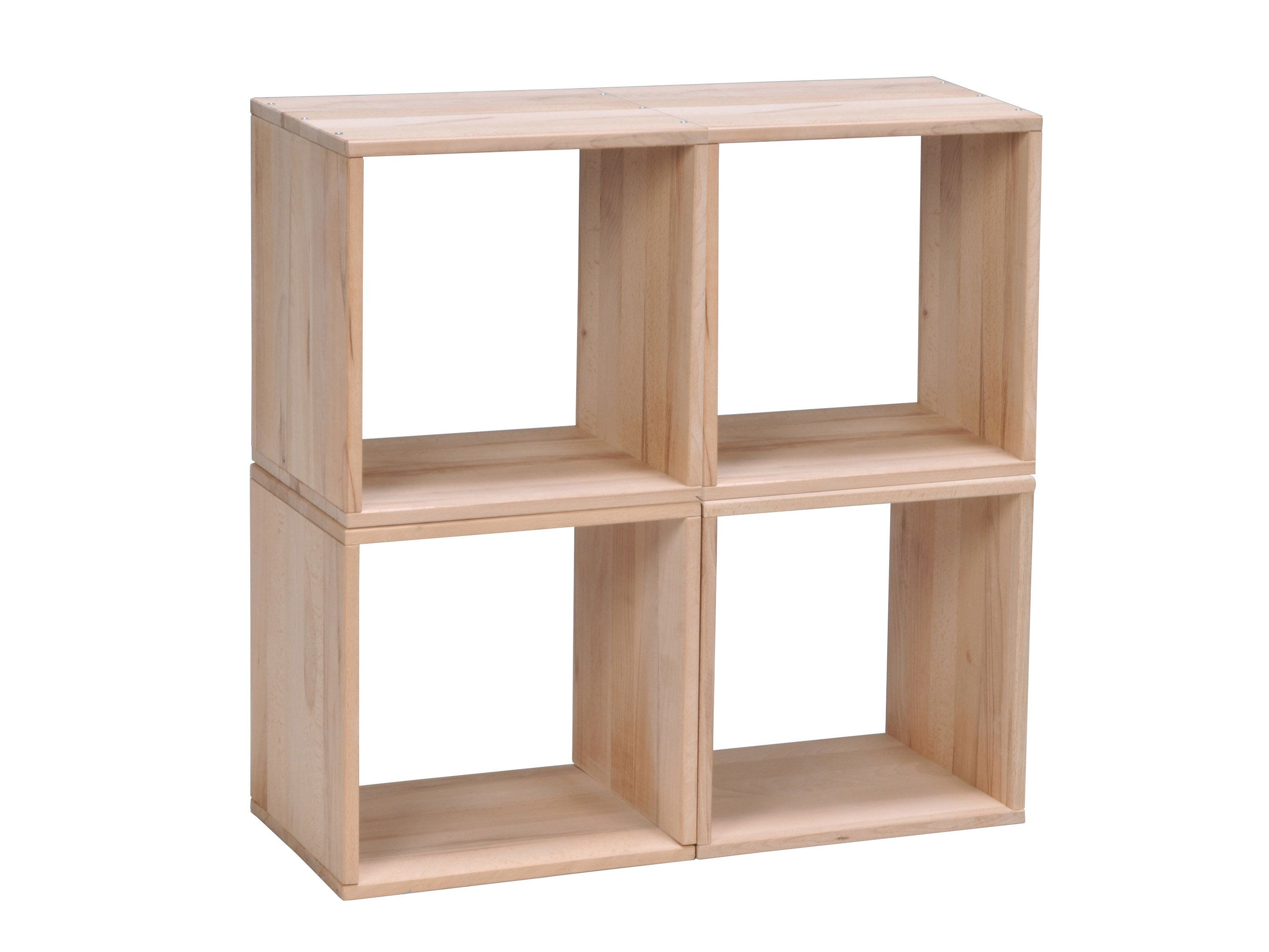 Cubes Modulables Hetre Massif Finition Brut Dimensions Longueur 36 Cm Profondeur 28 Cm Hauteur 3 Deep Bookcase Small Bedroom Decor Diy Projects Small