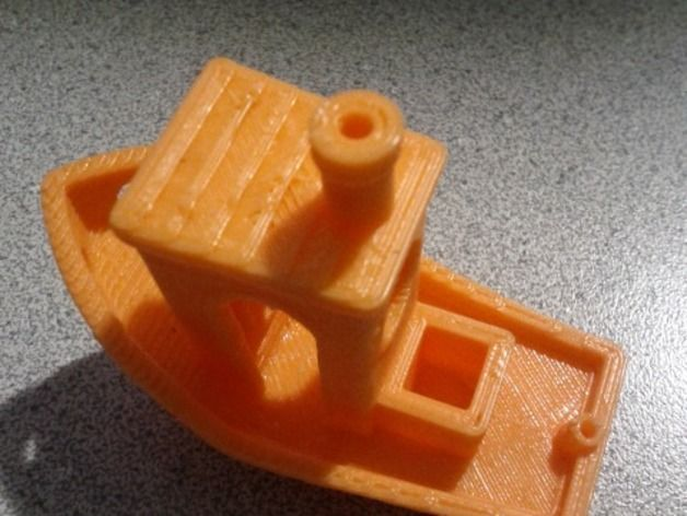 #3DBenchy - The jolly 3D printing torture-test by Dyne