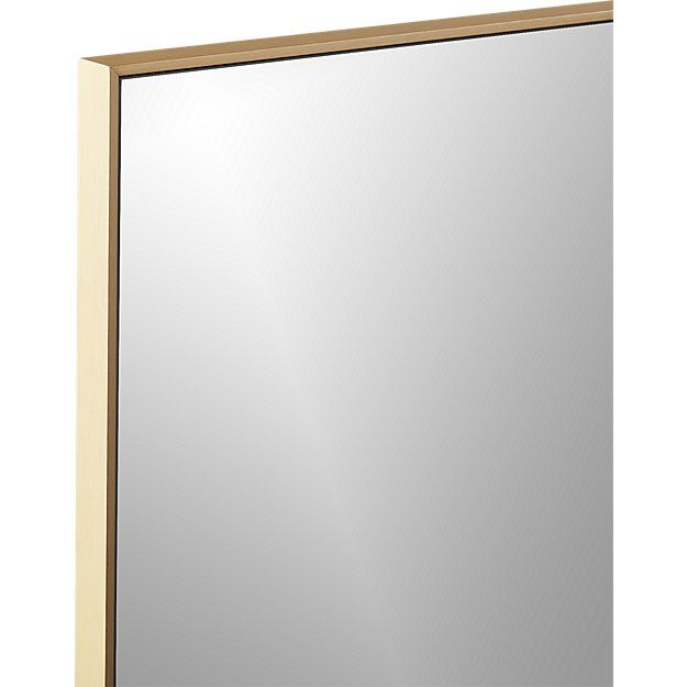 Infinity Brass 24 Quot Quot X36 Quot Quot Rectangular Wall Mirror