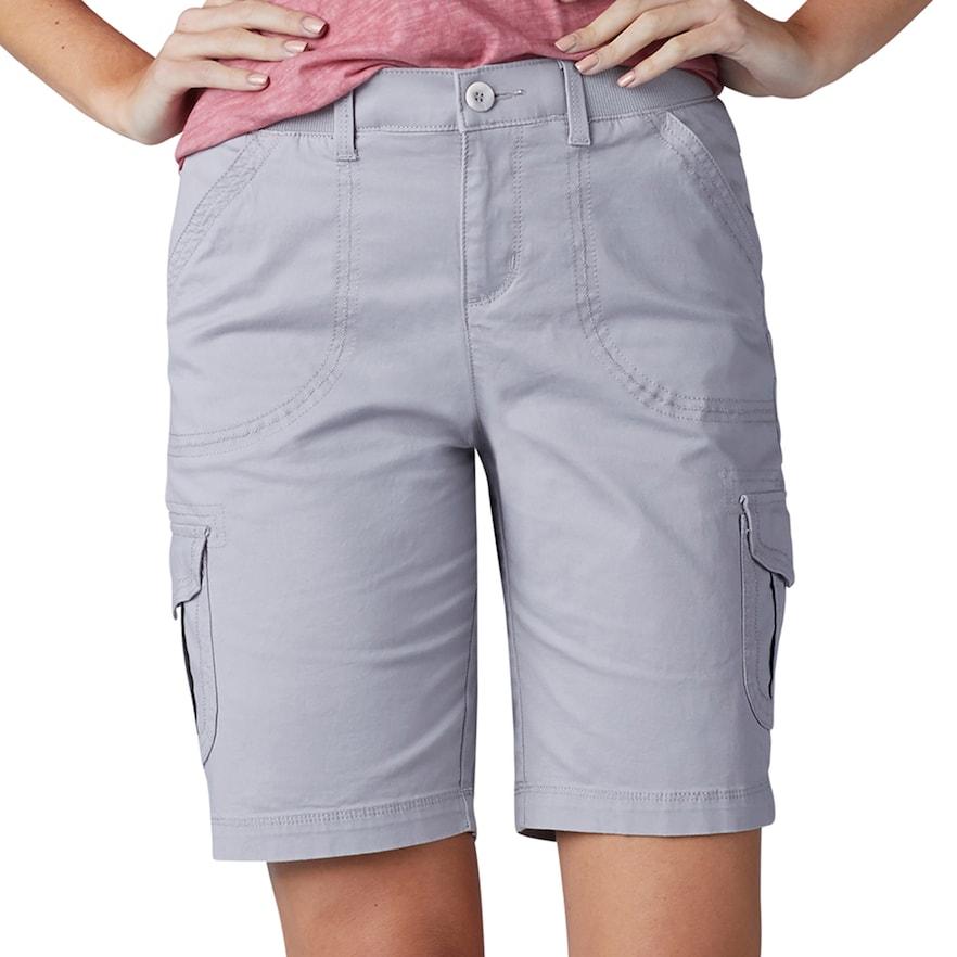 Women S Lee Diani Comfort Waist Bermuda Shorts Bermuda Shorts