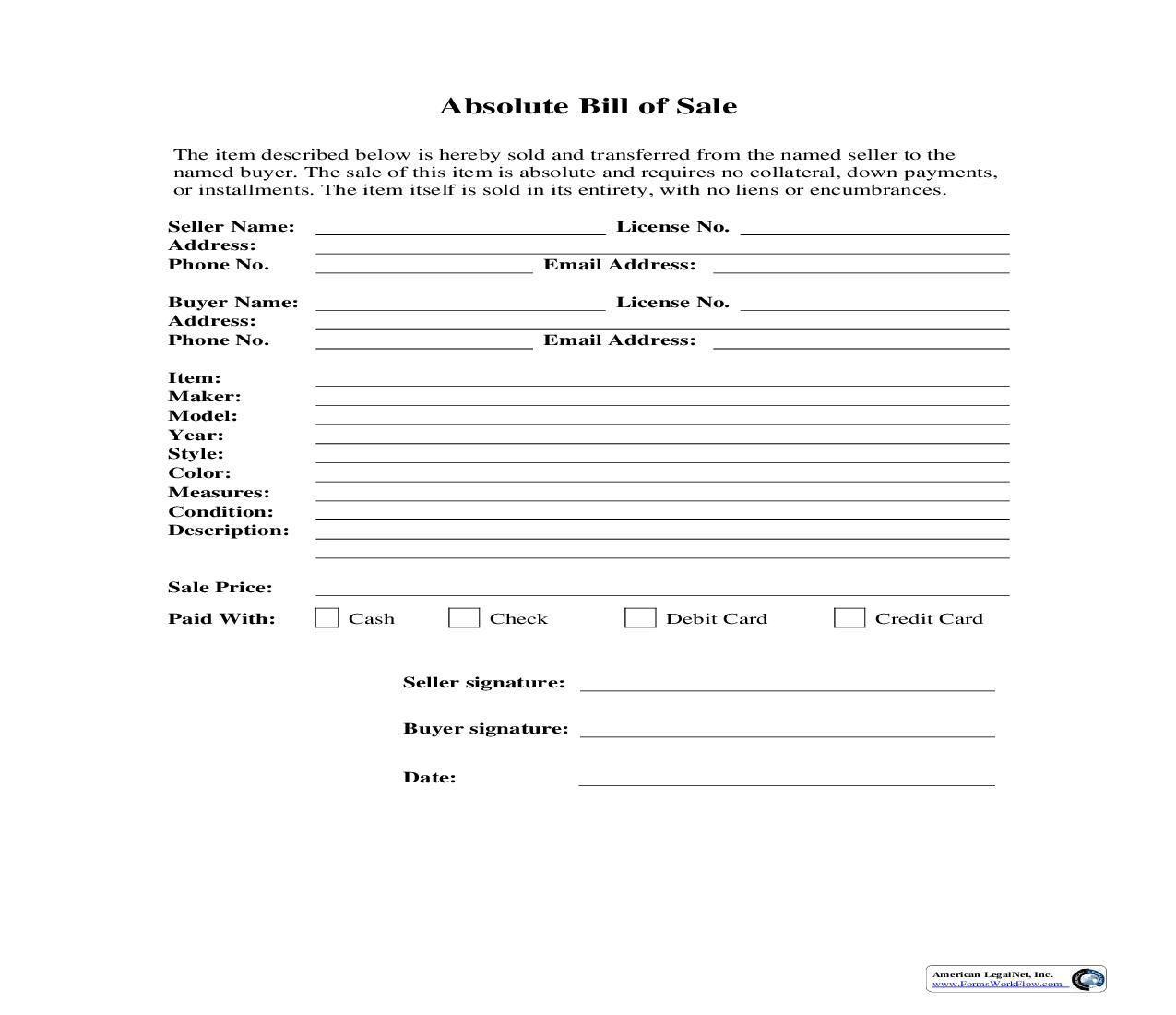 New York State Bill Of Sale Form Elegant Free 15 Sample Dmv Bill Of Sale Form New York State Bills New York