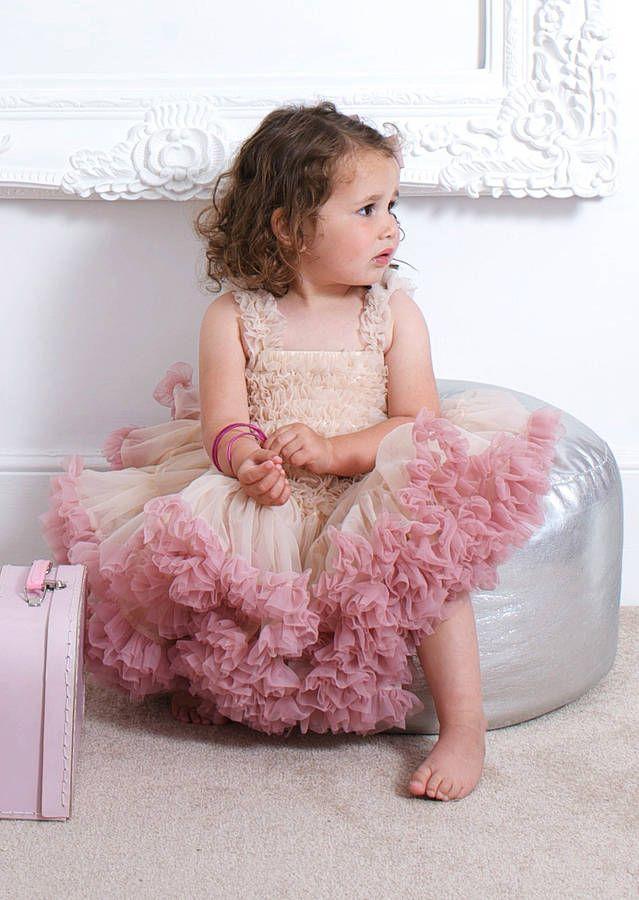 Angel's Face Girl's Tutu Dress