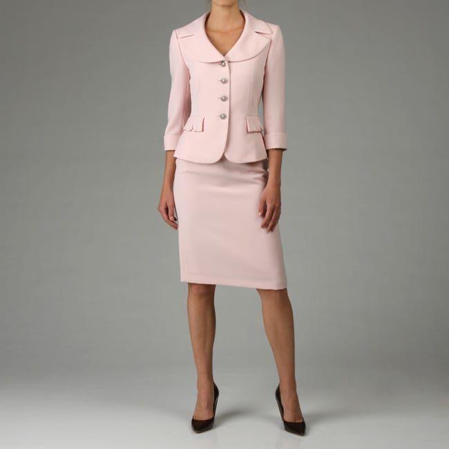 Discount Tahari Suits For Women Tahari Asl Women S Pink Crepe