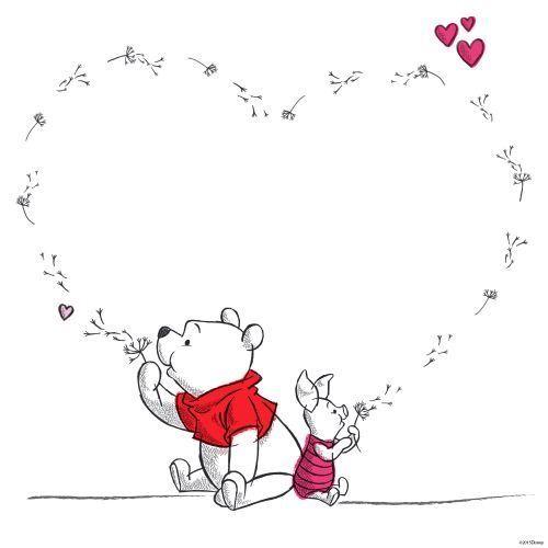 Pooh and piglet #winniethepooh #bestfriends