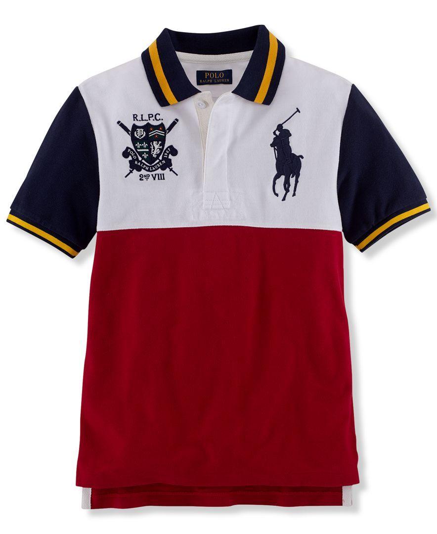 Ralph Lauren Boys' Pieced Polo