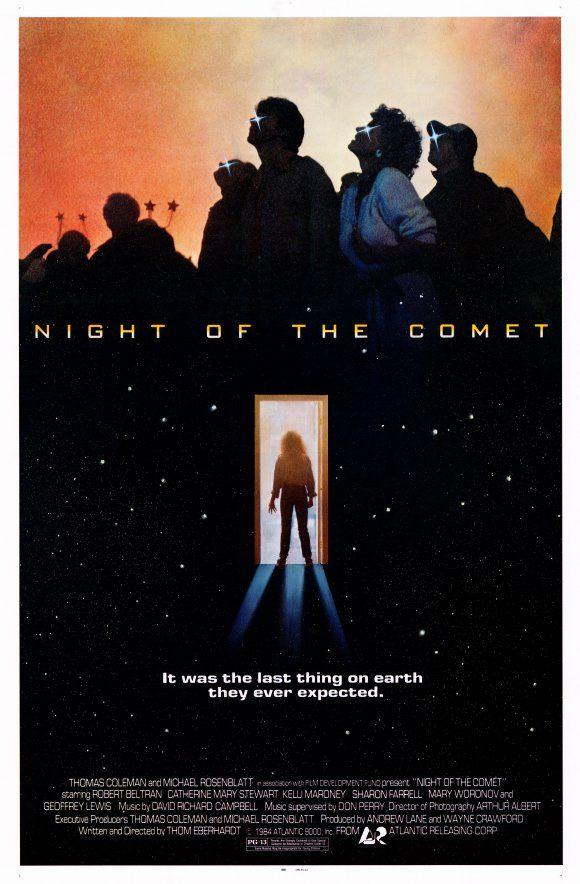 Night Of The Comet 1984 Movie Review Comet Movie 1984 Movie Movie Posters