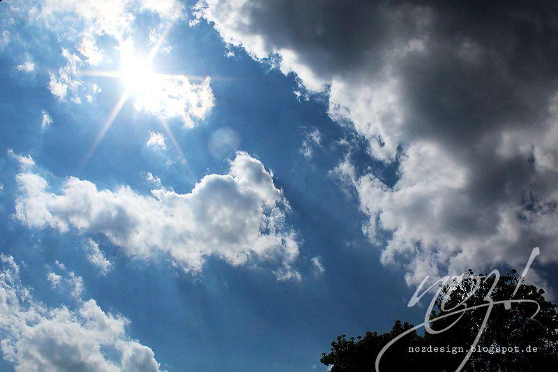 Wunderschöne Wolkensonne bei den Glücksmomenten von Katja