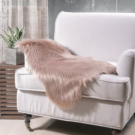 Fabulous Deluxe Super Soft Faux Sheepskin Fur Chair Couch Cover Area Caraccident5 Cool Chair Designs And Ideas Caraccident5Info