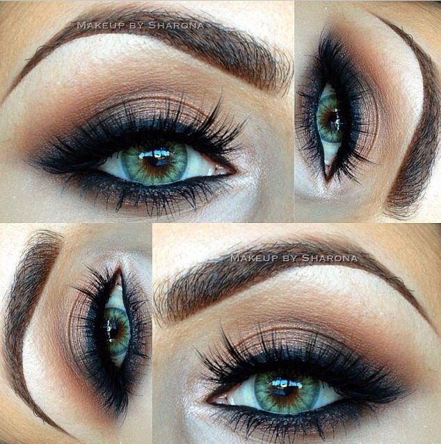 14 Overwhelming Smokey Eye Makeup Looks And Tutorials Smokey Eye Makeup Green Eyes And Makeup