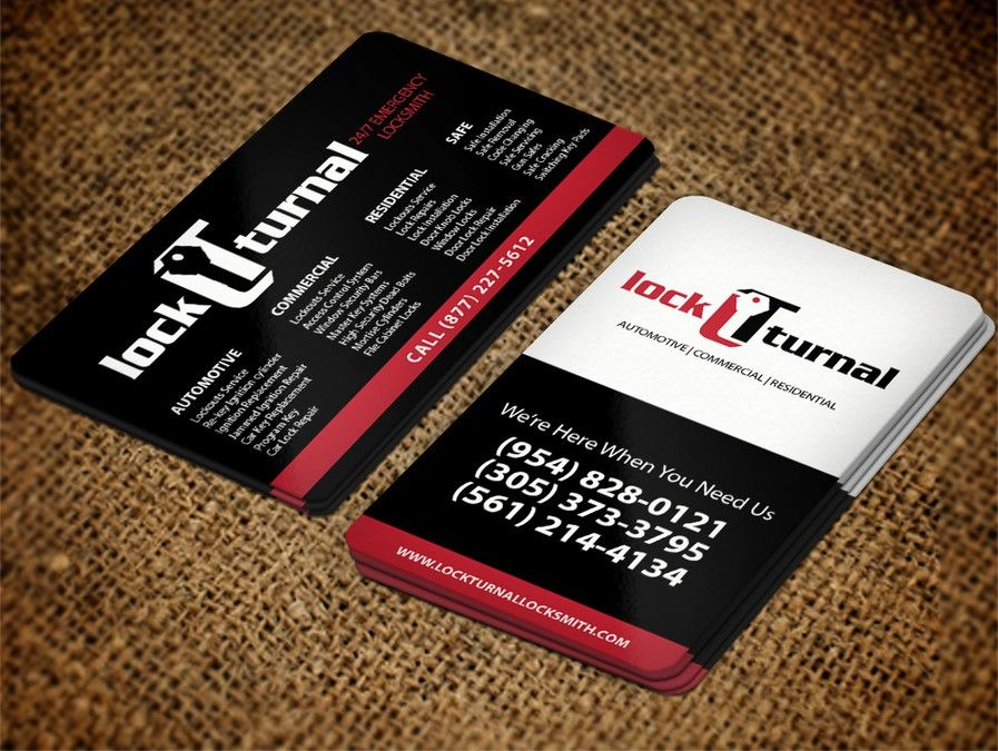 Freelance business card design for local locksmith company freelance business card design for local locksmith company colourmoves