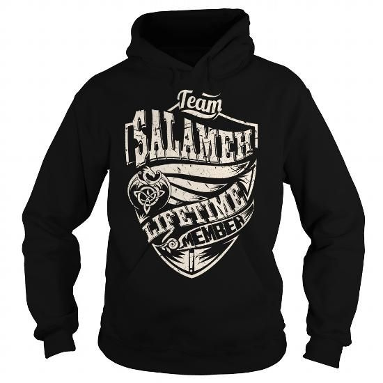I Love Team SALAMEH Lifetime Member (Dragon) - Last Name, Surname T-Shirt T shirts