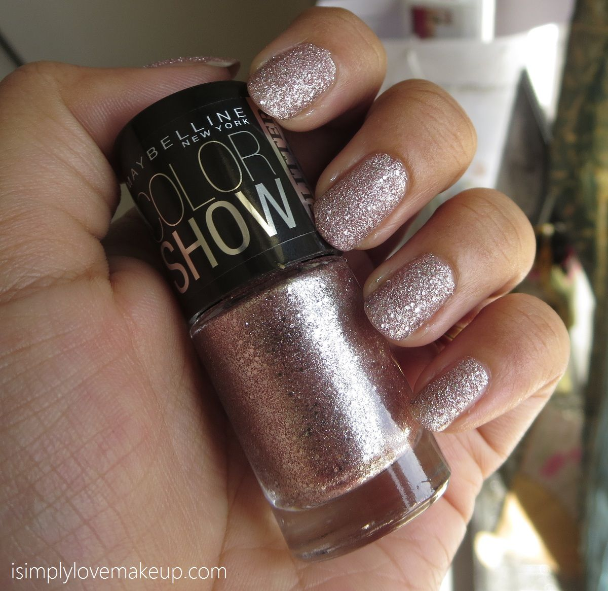 Maybelline ColorShow Glitter Mania Pink Champagne Nail Color | Nails ...