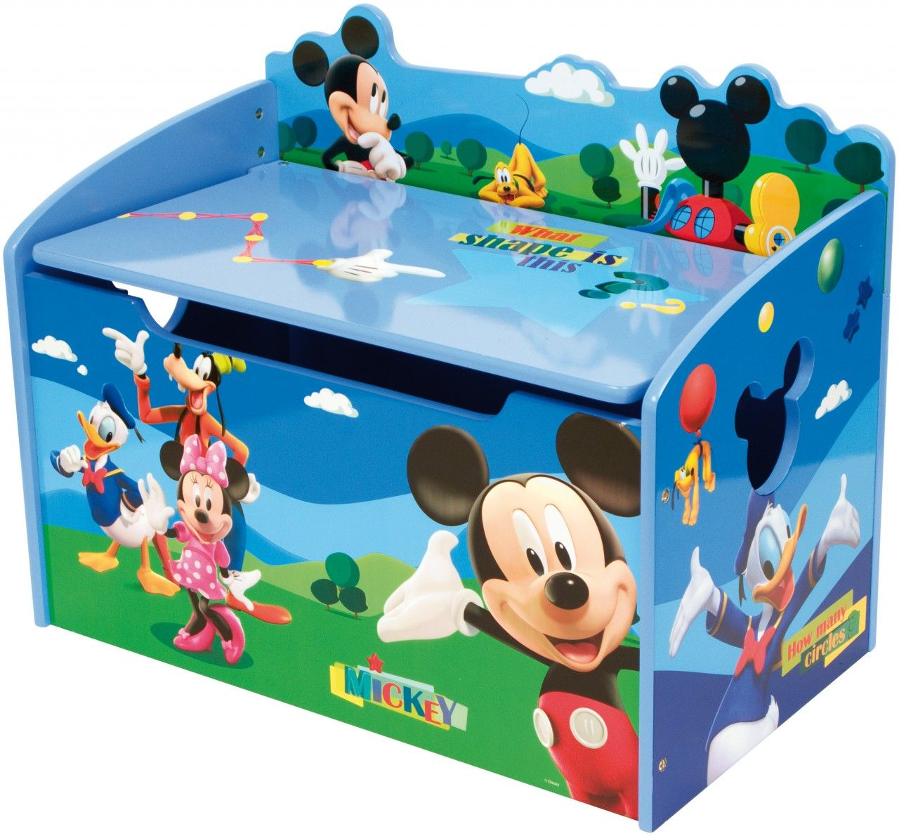 Mickey Mouse Clubhouse Toy Box Clubs Hotel Para Gatos Uc