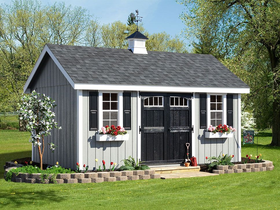 A Frame Wooden Storage Sheds For Sale View All Our Styles Backyard Sheds Shed Ramp Painted Shed