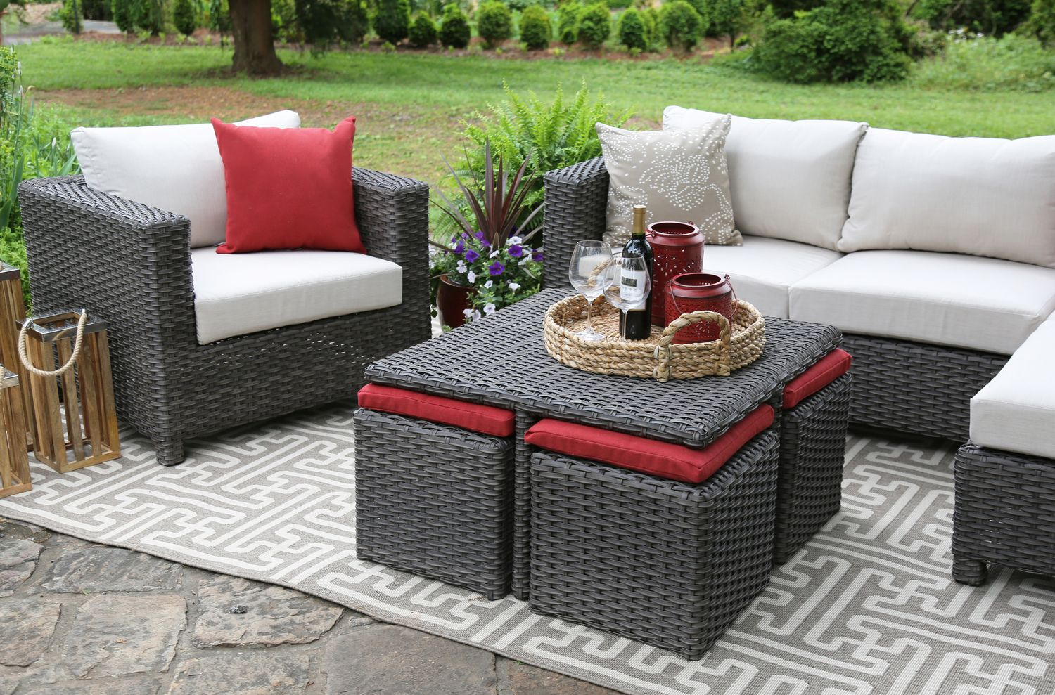 Delicieux Carson Deep Seating Set Ae Outdoor Not Your Grandma S Patio. Beautiful  Sunbrella Patio Furniture Residence Decorating Suggestion  Furnituresunbrella ...