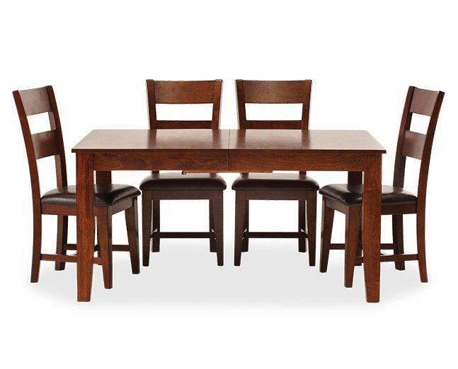 Bear Creek 5 Pc Dining Room Set Furniture Row