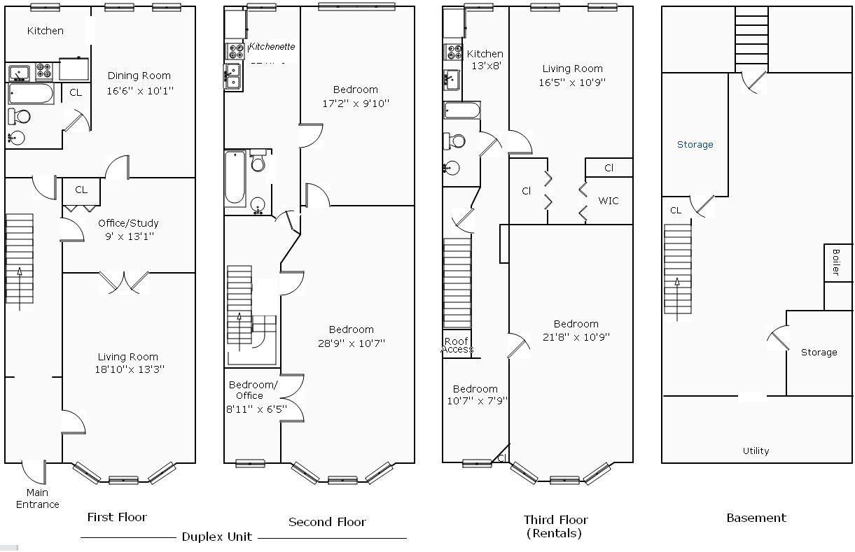 Row House Floor Plans Unique