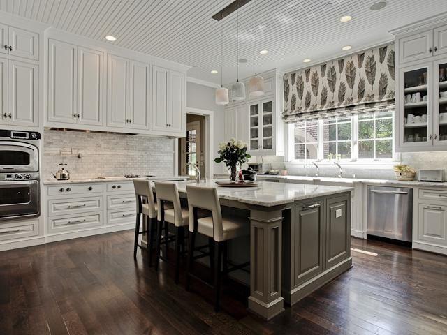 Smoke Glass Subway Tile White Kitchen Backsplash Kitchen Trends