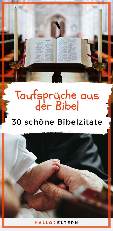 Biblische Taufsprüche