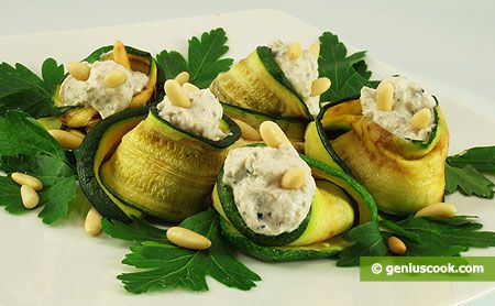 The Zucchini with Ricotta and Truffles Recipe | Dietary Cookery | Genius cook - Healthy Nutrition, Tasty Food, Simple Recipes