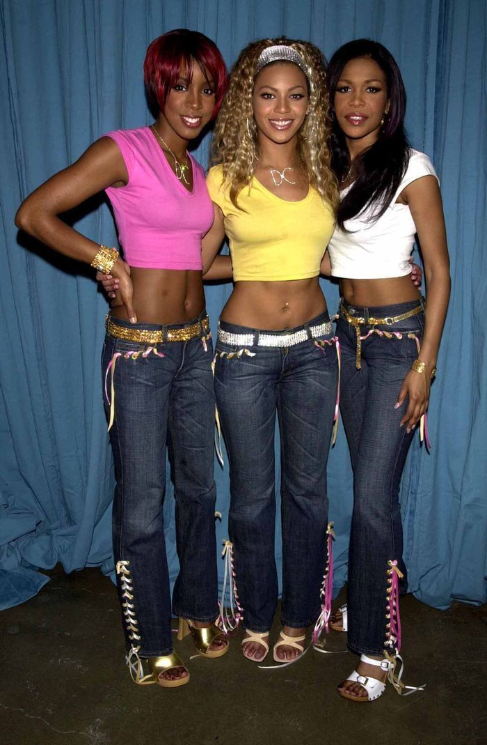 Iconic Party Looks: Destinys Child in crop tops and jeans