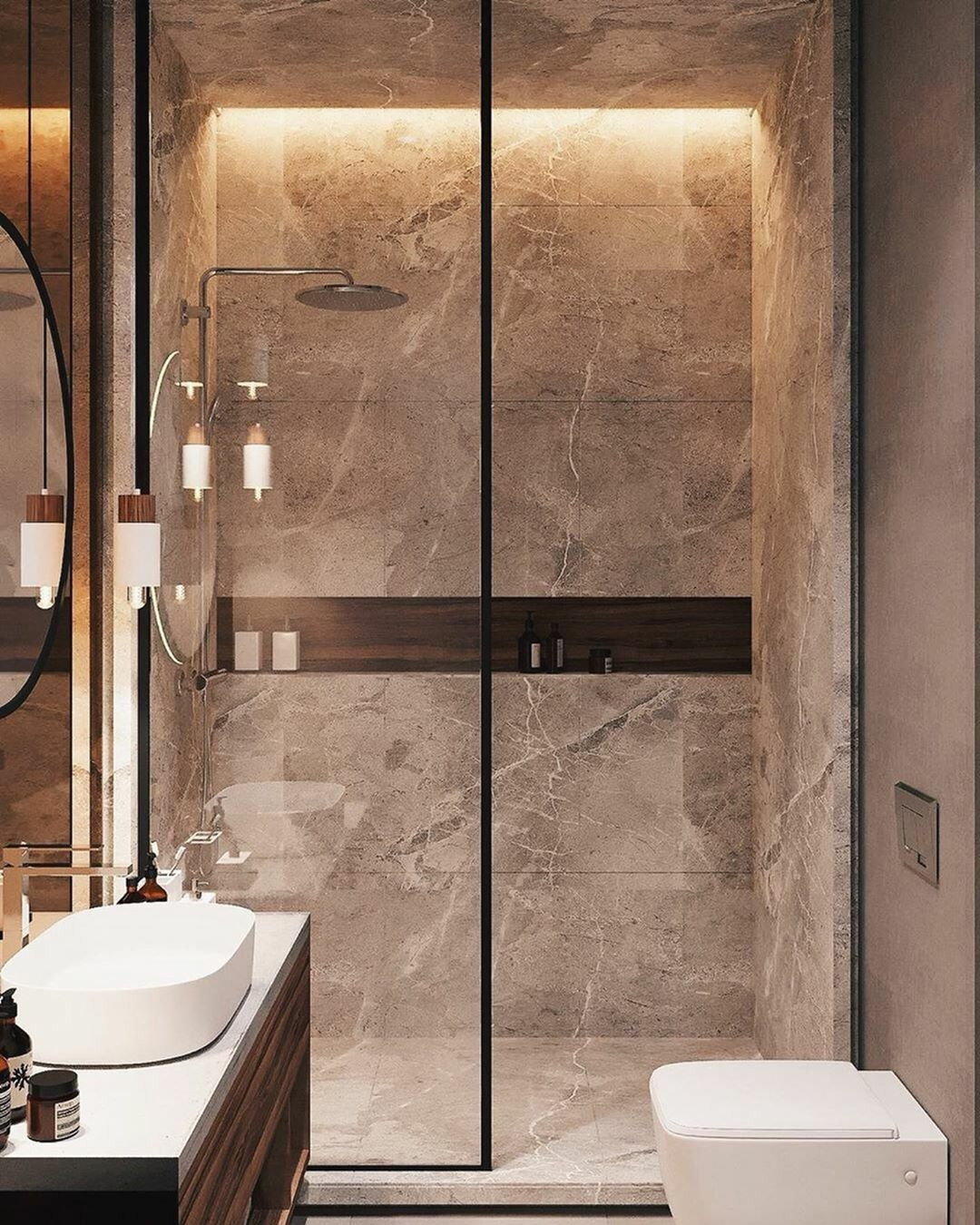 Bathroom #inspiration #Interior #loft Bathroom Inspiration // Loft
