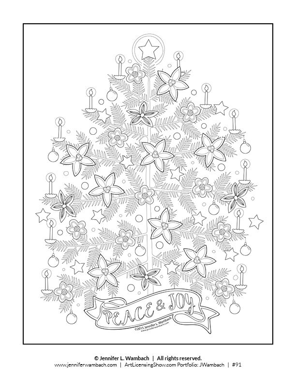 Free 92 Page Holiday Coloring Book Artlicensingshow Com Your 24 7 Virtual Art Licensing Show Holiday Coloring Book Christmas Coloring Pages Coloring Books