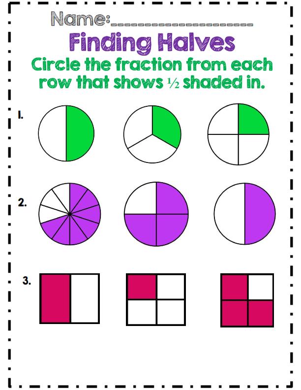Csf 3rd Grade Fractions Lessons Tes Teach