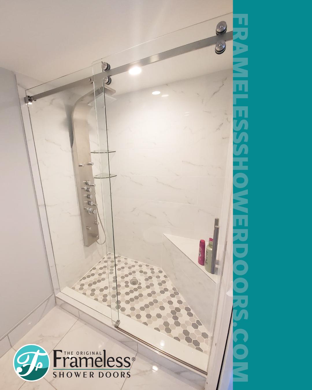 Custom Designed Showers In Seattle Puget Sound Cascade Glass Shower Doors Master Bathroom Shower Bathroom Renovations