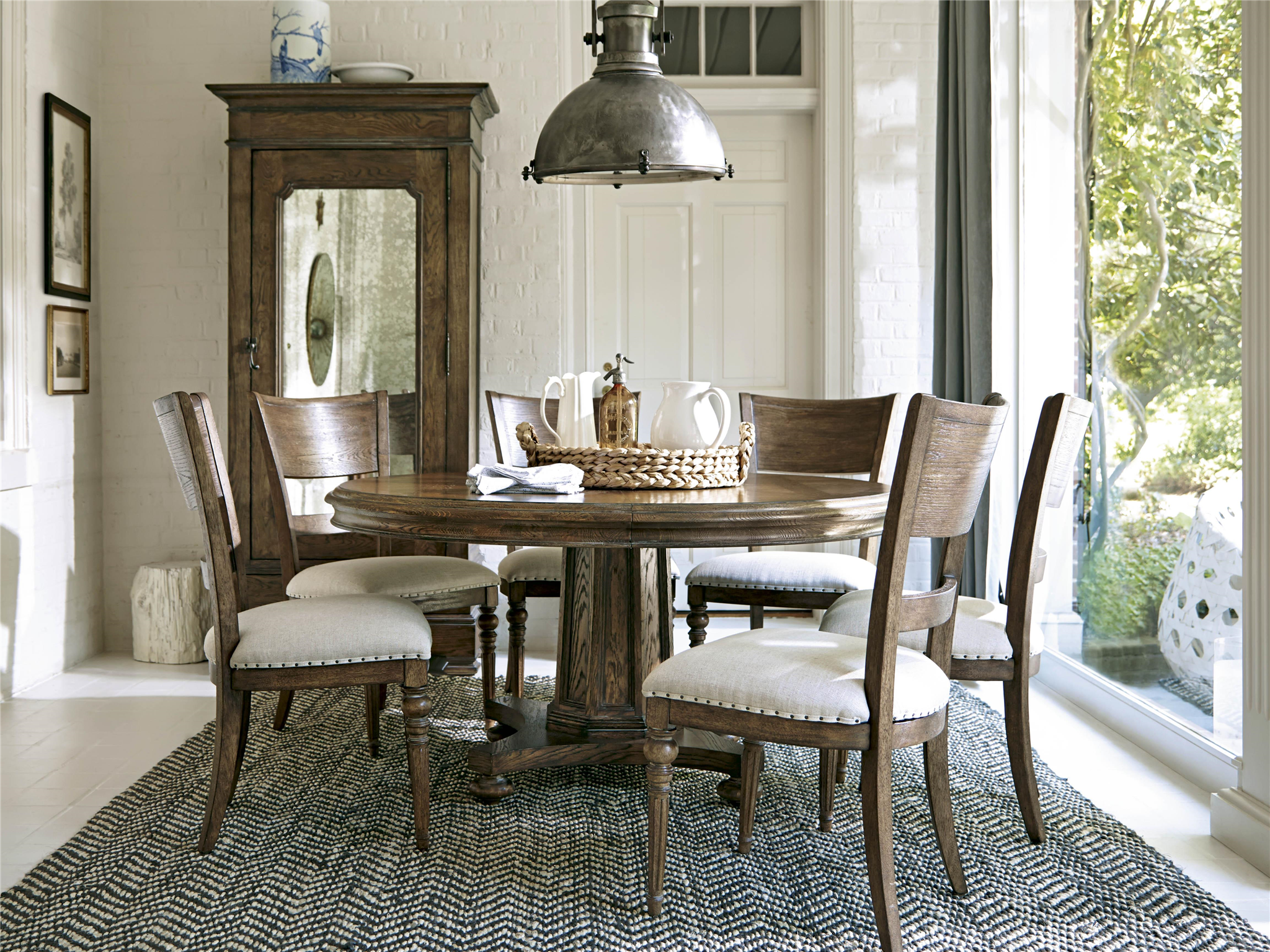 Universal Furniture New Bohemian Round Dining Table Round