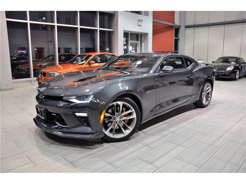 2017 Camaro 50th Anniversary >> 2017 Chevrolet Camaro 2ss Fifty 50th Anniversary With Only
