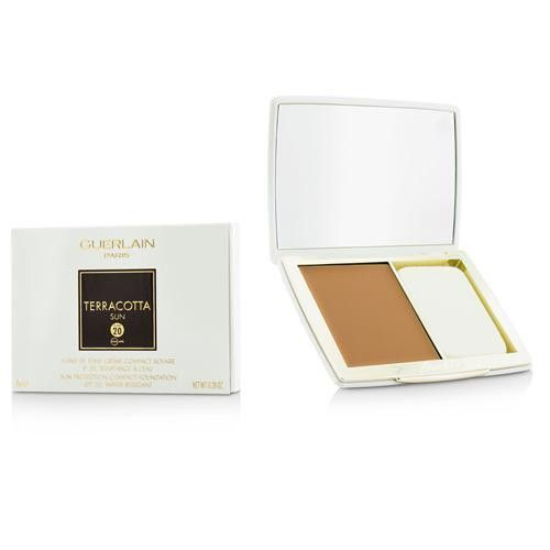 Guerlain Terracotta Sun Protection Compact Foundation Spf 20 - # Bronze --8g-0.28oz By Guerlain