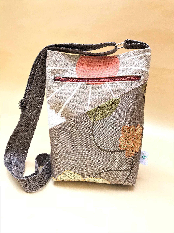0bcf966008 Cross body purse. Shoulder bag for women. Birthday gift for her. Fabric  handbag