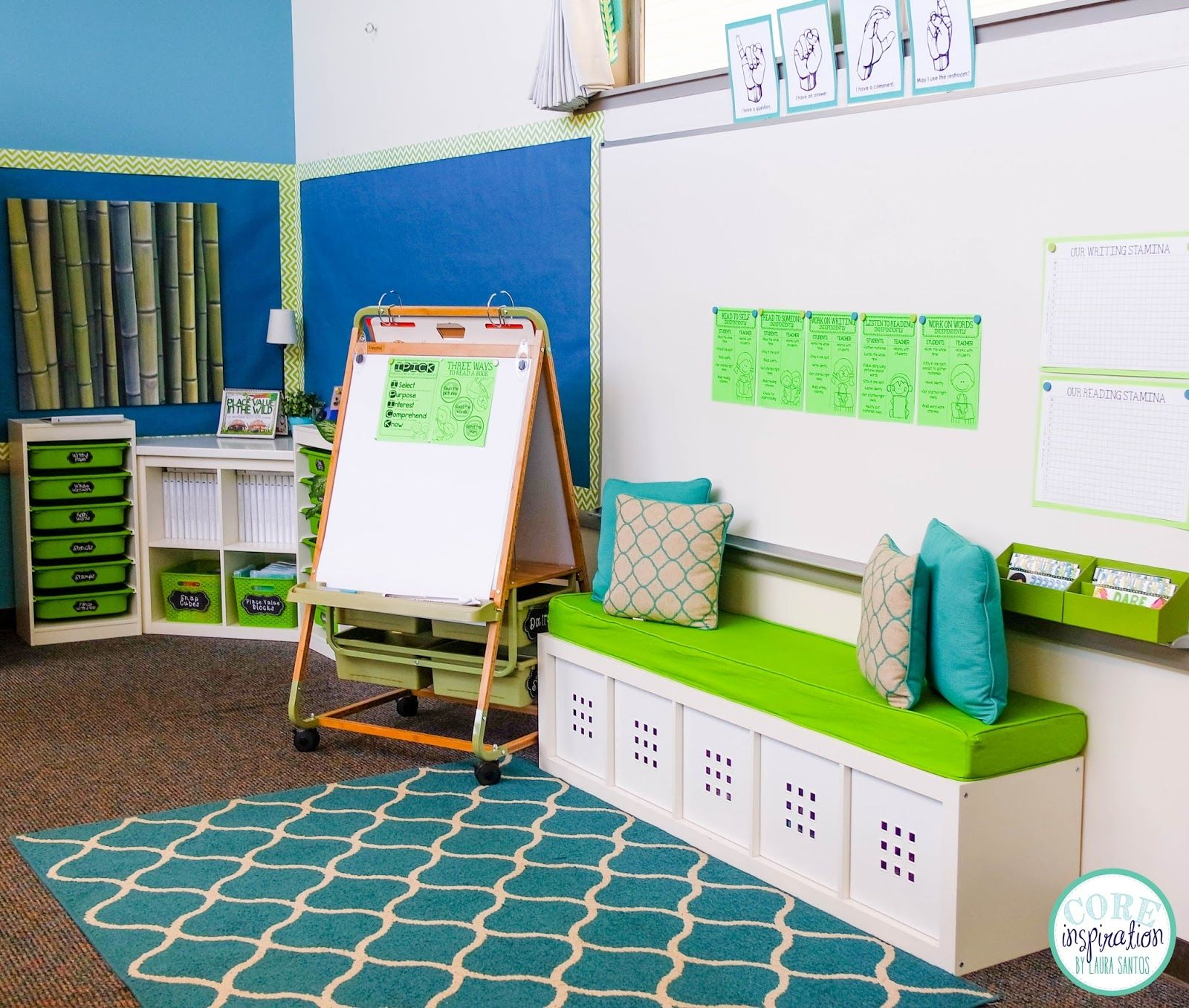 Preschool Classroom Design: Core Inspiration By Laura Santos: Classroom Reveal 2015