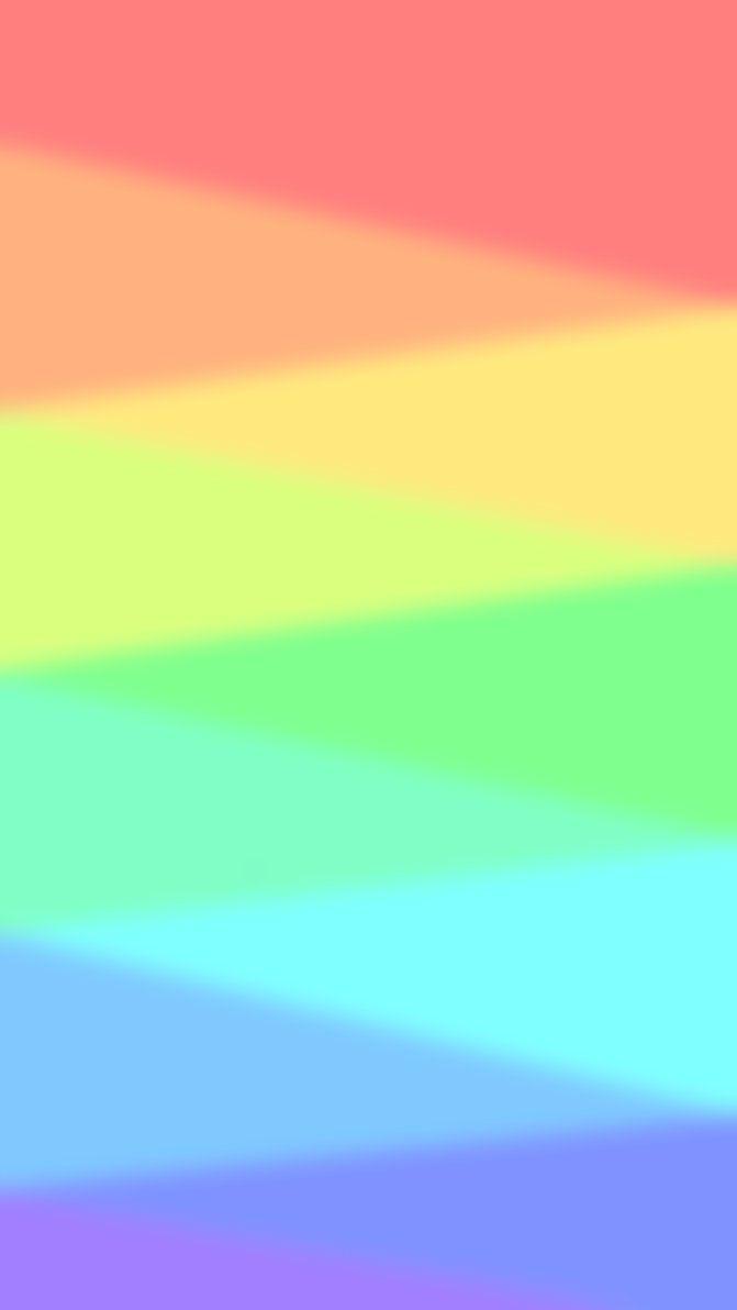 Pastel Rainbow Custom Box By Little Painter On Deviantart Pastel Rainbow Rainbow Wallpaper Iphone Custom Boxes