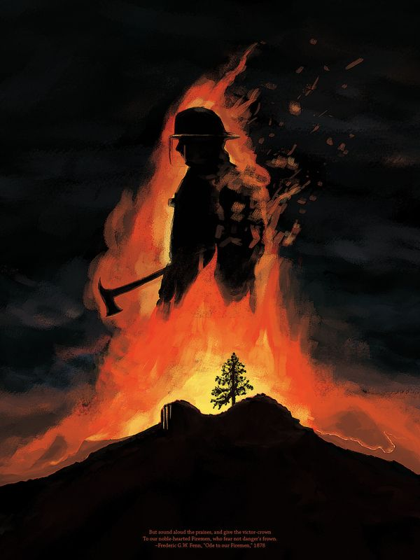 Ode To Our Firemen A Tribute To Those Granite Mountain Hotshot Firefighters Who Lost Their Lives Bravely Ser Cuerpo De Bomberos Imagenes De Bomberos Bomberos